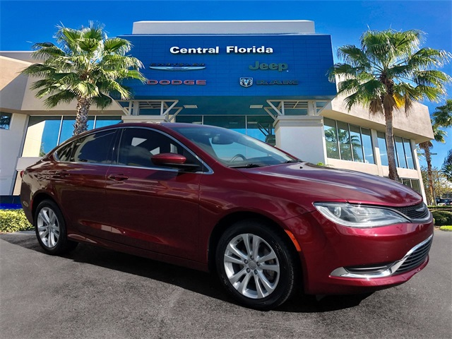 Chrysler 200 Limited >> Certified Pre Owned 2017 Chrysler 200 Limited Fwd 4d Sedan
