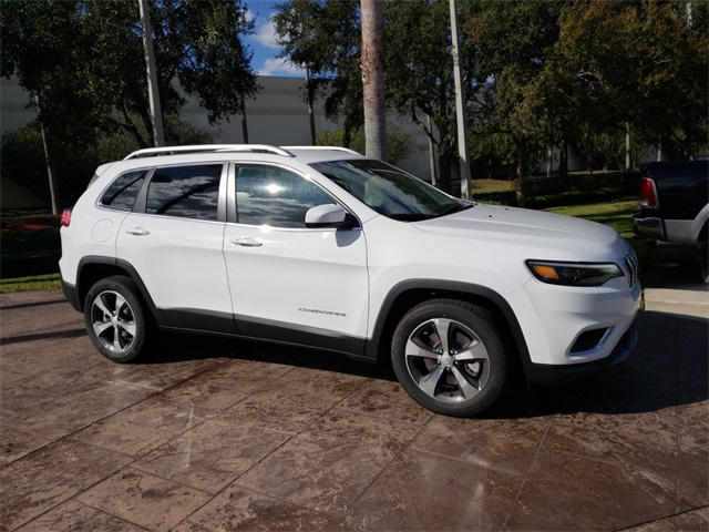 New 2019 Jeep Cherokee Limited Sport Utility In Orlando D326771